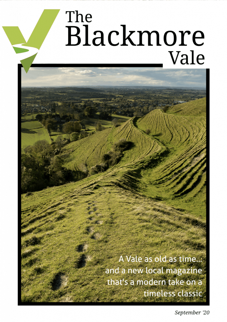 the blackmore vale first issue front cover