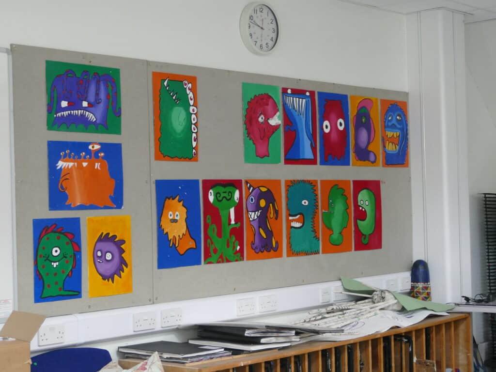st mary's school pupil artwork