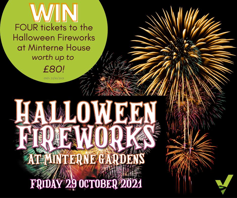 Halloween Fireworks at Minterne House